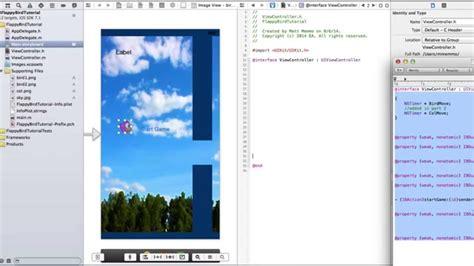 xcode quick look tutorial flappy birds xcode tutorials quick and easy doovi