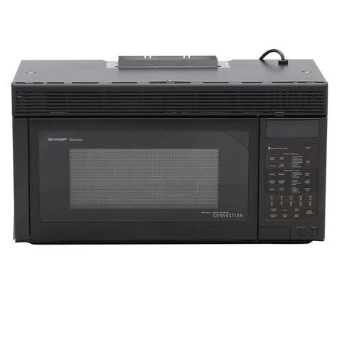 Microwave And Oven Sharp sharp 1 1 cu ft 850 watt the range convection