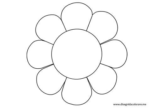 margherita fiore disegno sagoma margherita disegni da colorare