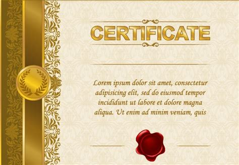 certificate design beautiful excellent certificate and diploma template design 04