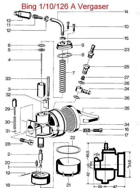 Sachs Motor Vergaser Einstellen by Moped Garage Net Z 252 Ndapp Bergsteiger M25 Vergaser Gaszug