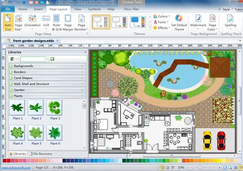 software draw floor plan 27 wonderful 2d garden design software free download