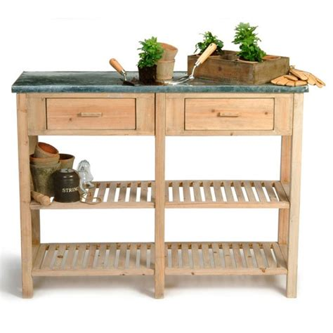 large potting bench large potting bench from garden trading garden storage