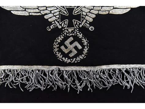 casket drape small german casket drape for displaying medals