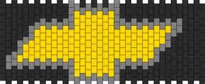 chevy logo pony bead patterns misc kandi patterns for