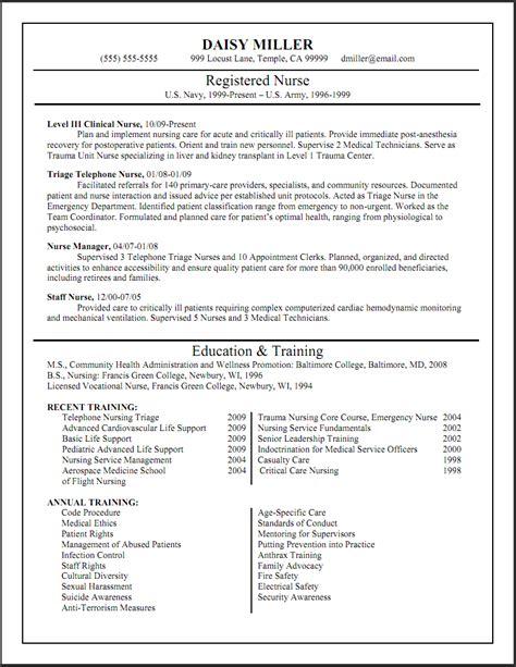 Sample Resume Nurse – Nursing Resume Sample & Writing Guide   Resume Genius