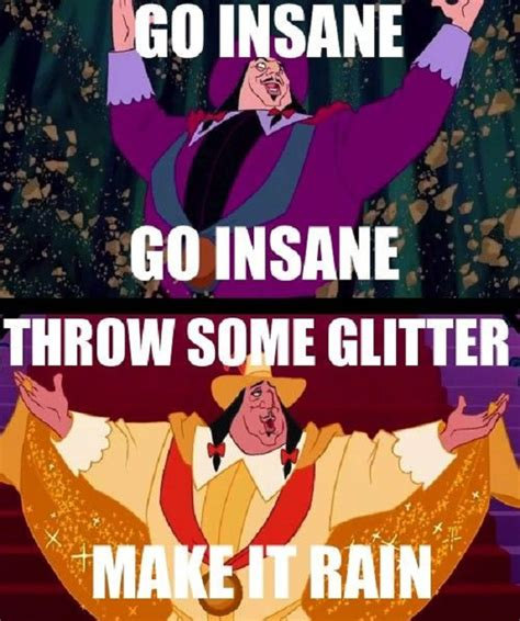 Glitter Meme - throw some glitter gagthat