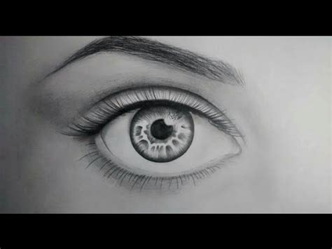 imagenes para dibujar a lapiz ojos c 211 mo dibujar un ojo realista paso a paso youtube