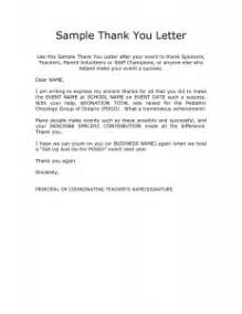 thank you letter to parents from best resume gallery