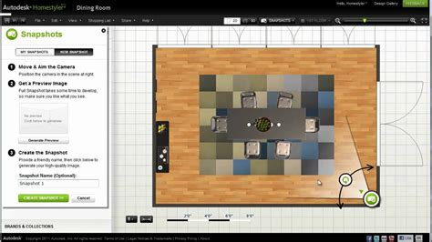 homestyler design autodesk homestyler snapshot and 360 panorama tutorial