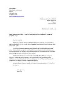 Demande De Lettre De Recommandation Exemple Lettre De Recommandation Pour Un 233 Tudiant Exemples De Cv