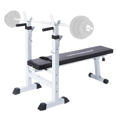 folding weight training bench ultrasport fold up weight lifting bodybuilding bench multi