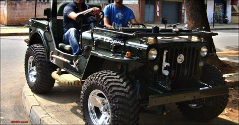 Jeep Model Cars In India Pics Tastefully Modified Cars In India Page 4 Team Bhp