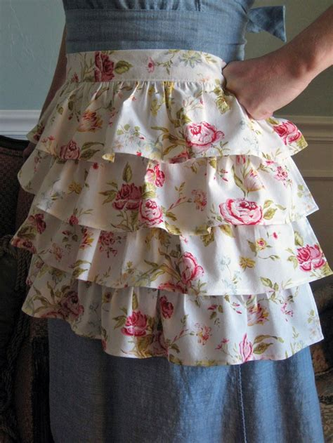apron pattern with ruffles 41 best novelty aprons for women images on pinterest