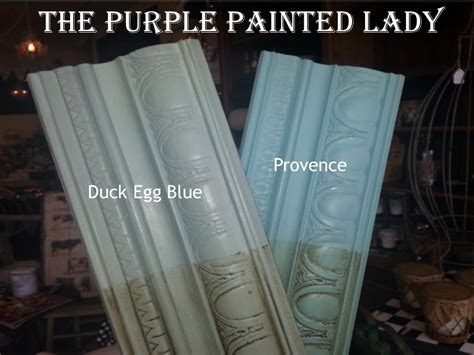 duck egg blue chalk paint 174 is it a blue or is it green the purple painted