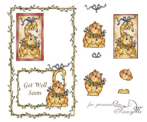 3d Decoupage Free Downloads - this photo was uploaded by leesacards 3d get well
