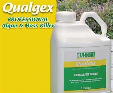 Algaelang The Algae Killer qualgex professional algae and moss killer rigby esi external works