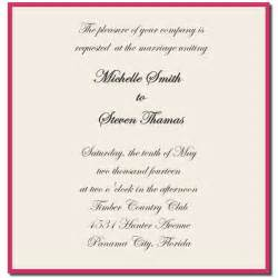 wedding invitation sle wording wedding invitation sle wording template best template