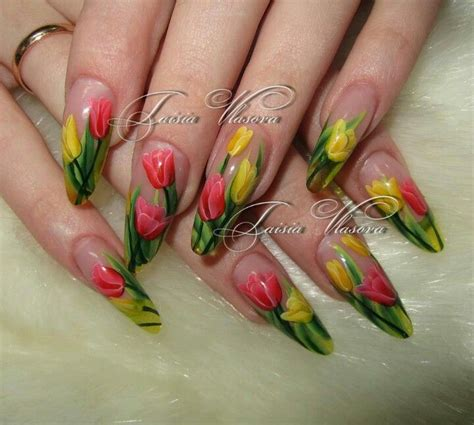 mothers day nail art images  pinterest nail