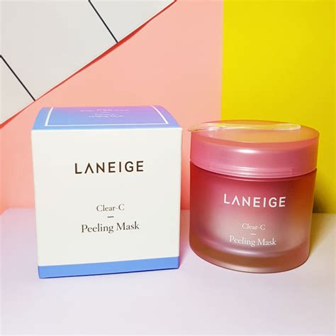Harga Laneige Clear C Peeling Mask laneige clear c peeling mask review style vanity