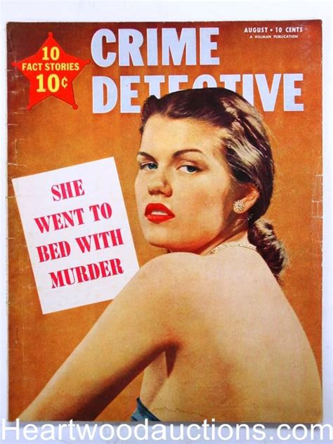 august murder books quot crime detective quot august 1951
