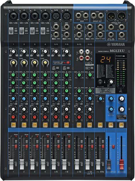 Mixer Yamaha Mg12xu 63025 yamaha mixer mg12xu