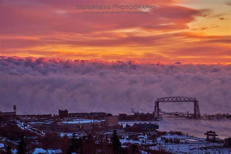 lake superior sea smoke the seas are smoking apocalyptic wall of icy fog above
