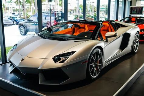 Lamborghini Of Palm 2017 Lamborghini Aventador Roadster West Palm Fl