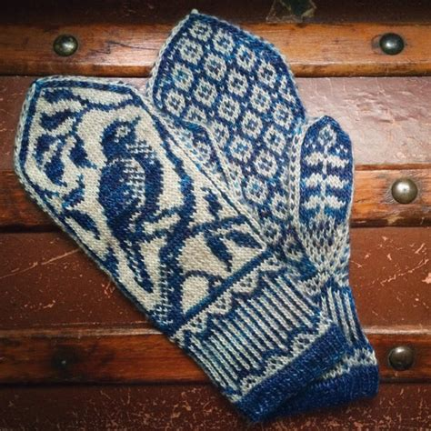 knitting pattern for mittens pdf knitting pattern songbird mittens