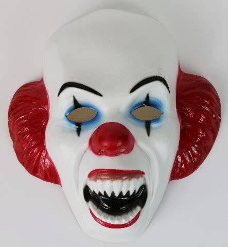pennywise clown halloween mask stephen king horror