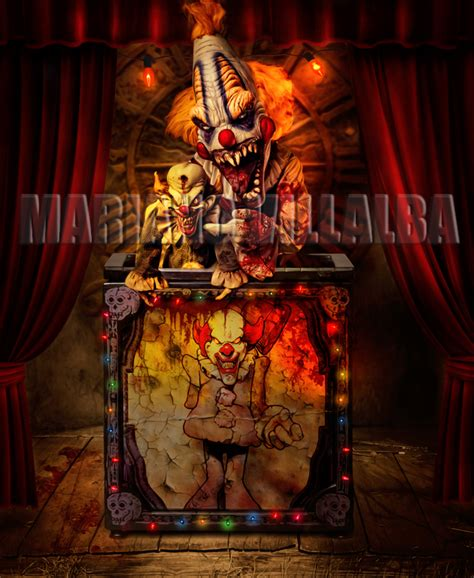 clown by pinkaphotography on deviantart evil circus series by mariano7724 on deviantart