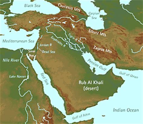 middle east map rub al khali desert earth science 7 middle east2 sjs wiki