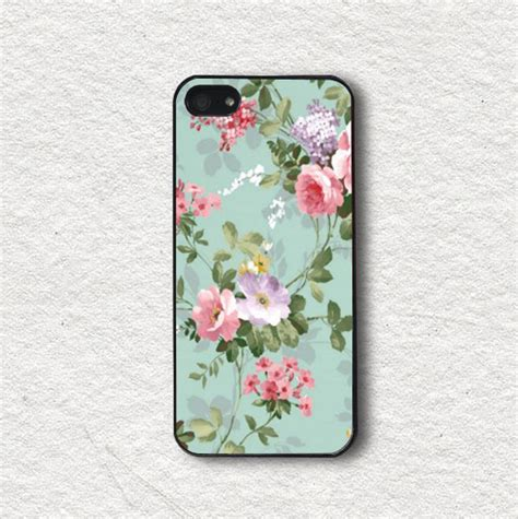 Iphone 4 4s Pastel Flower Lace Phone Cover Casing cell phone cover for iphone 4 iphone 4s iphone 5 iphone 5s iphone cover protecive