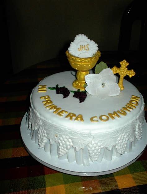 Pasteles Para Primera Comunion Tortas De Fondant Pasteleria D Ylia