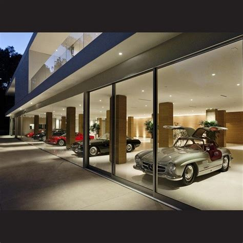amazing car showroom design with living room awesome the lower floor accommodates an office a family garage