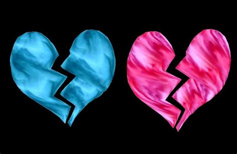 imagenes de corazones a la mitad banco de imagenes y fotos gratis corazones rotos parte 3