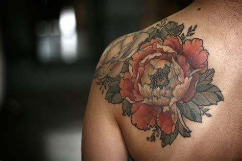 japanese rose tattoo best 25 japanese peony ideas on