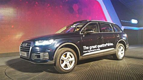 audi q7 cost in india second generation audi q7 launched in india prices and