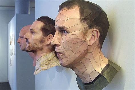 How To Make A 3d Paper Person - artist bert simon creates hyper realistic human