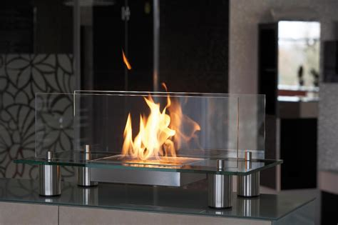 Fireplace Biofuel by Freestanding Bio Ethanol Elements