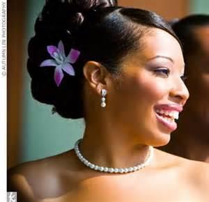 bridal hairstyles black