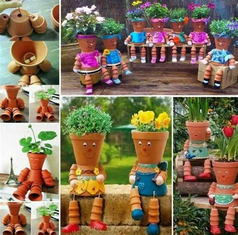 Bazaar Home Decorating Diy Flower Pot People Pictures Photos And Images For