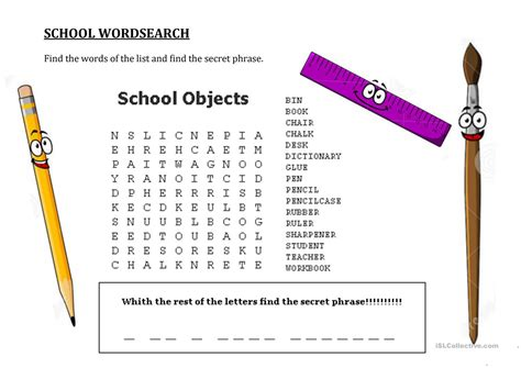 Free Word Search With Message Printable