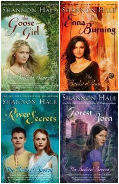 the series books the books of bayern series by shannon hale review emily