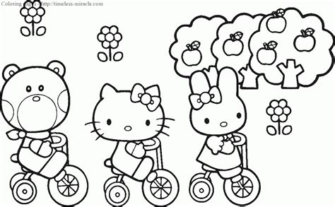 Princess Hello Kitty Coloring Pages Princess Hello Coloring Pages