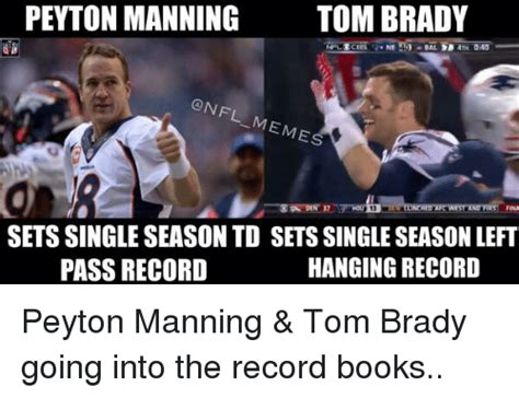 Brady Manning Memes - peyton manning tom brady meme www pixshark com images