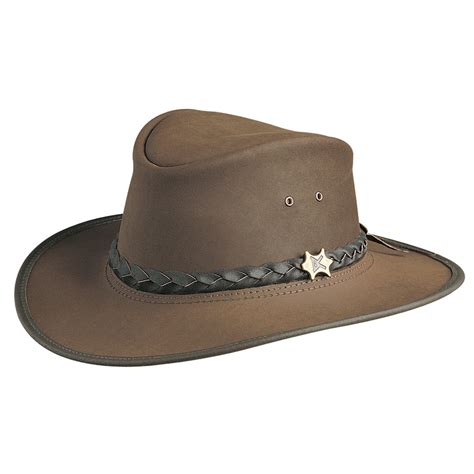 Leather Australia by Bc Hats The Original Australian Leather Hat
