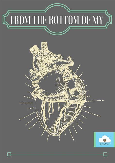 bottom   heart digital card