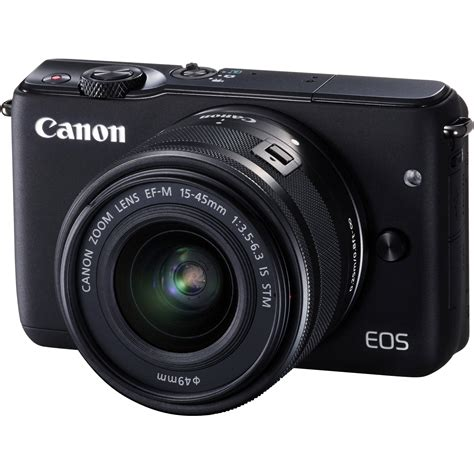 canon mirrorless canon eos m10 mirrorless digital with 15 45mm 0584c011