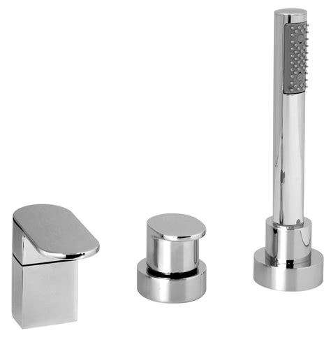 Shower Mounted by Vado 3 Deck Mounted Bath Shower Mixer Tap Lif